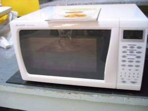 sharp carousel microwave R-350F - 1200 watt. Display not working Thornlie Gosnells Area Preview