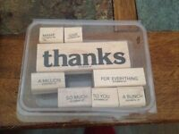 Stampin up Thanks for Everything