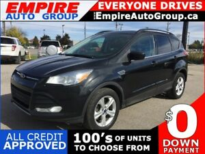 2014 FORD ESCAPE SE * 4WD * NAV * REAR CAM * HEATED SEATS * PANO
