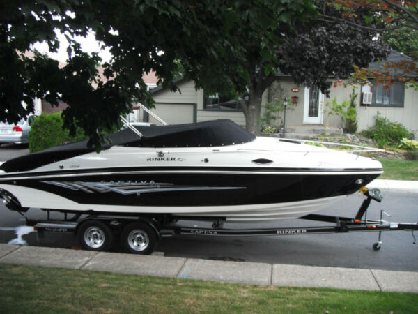Used 2008 Rinker Boat Co Captiva cuddy cabine 246