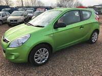 Hyundai i20 1.2 2010MY 9 STAMPS OF SERVICE HISTORY REAL VALUE