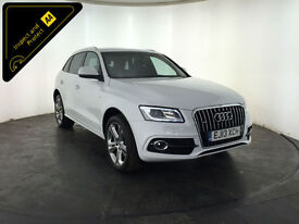 2013 AUDI Q5 TDI QUATTRO S LINE PLUS 1 OWNER SERVICE HISTORY FINANCE PX WELCOME
