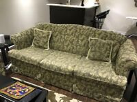 Three Seater Couch with two Cushions