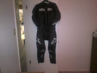 Alpinestar Carver 2 pc. Leather suit *Worn once* - Reduced Price