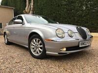 2002 02 REG Jaguar S-TYPE 3.0 V6 auto SE