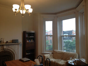 4 1/2, Big 2 bedrooms, Plateau Mont royal, Renovated, Clean