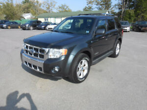 2008 FORD ESCAPE 5 DOOR LIMITED SUV, WARRANTY INCLUDED