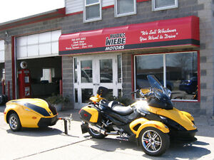 2008 Cam Am Spyder + Trailer *$1000's in Extras,Only 10,000kms!*