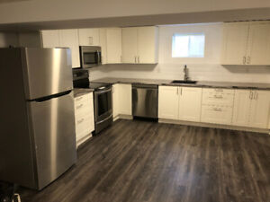 Newly Renovated Basement Unit of Detached Bungalow for Rent!