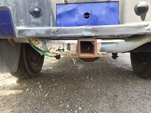 Receiver hitch for for ranger