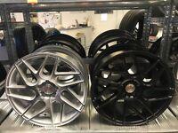 "18"" Stuttgart alloy wheels alloys 112 rims tyre tyres audi seat skoda Vw Volkswagen finance"