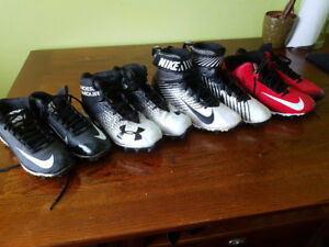 4 Pairs Football Cleats