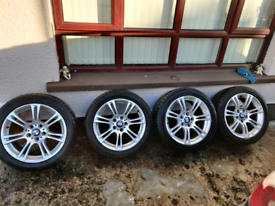 Genuine BMW 5X120 Alloy wheels F10 M Sport