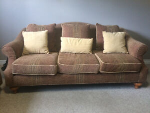 Two beautiful solid couches for 500$!