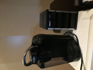 Keurig machine and pod storage for 40 kcups