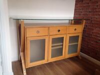 Sterling Furniture solid oak sideboard
