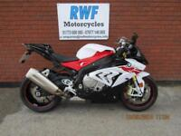 BMW S 1000 RR, 2017, 67 REG, ONLY 1901 MILES, MINT COND, SPORTS PACK + EXTARS