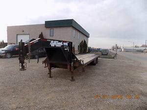 "2012 Diamond C Fleetneck 32' X 102"" Gooseneck- Flatdeck Regina Regina Area image 9"