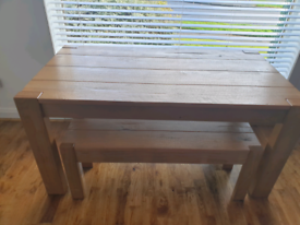 NEXT Solid Dining Table Bench