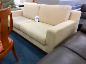 Gorgeous cream sofa 3 seater £70