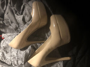 high Heels!!!  only warn once!