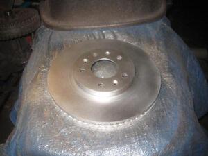 2005 Cadillac CTS front rotors and brake pads