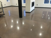 Concrete Polishing, Epoxy, Sealer, Repair