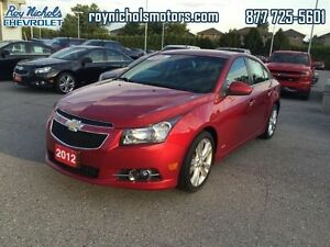 2012 Chevrolet Cruze LTZ  - Certified - Leather Seats -  Bluetoo