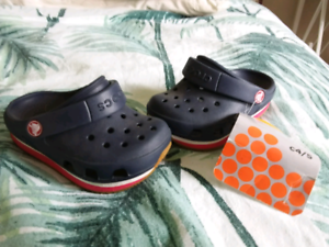 Baby crocs size 4/5 Tallangatta Towong Area Preview