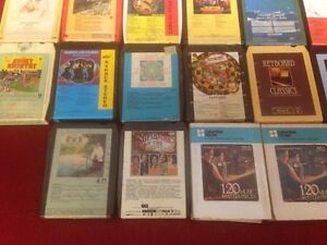110 Assorted 8-Track Tapes