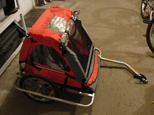 Triumph 2 Seater Bike Trailer