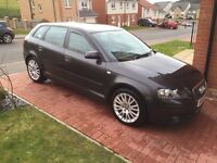 2006 AUDI A3 2.0 TDI SPORT SPORTBACK WITH FULL BLACK LEATHER