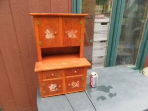 CUPBOARD - MINIATURE - VINTAGE - REDUCED!!!!