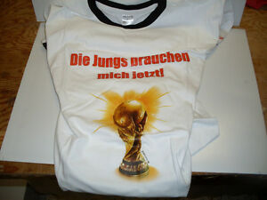 Budweiser / Germany 2010 Fifa World Cup T-Shirt *NEW*
