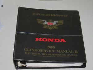 2000 Goldwing Factory Service Manual