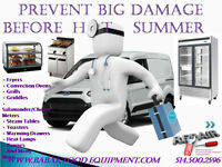 service and repair commercial cooking equipment