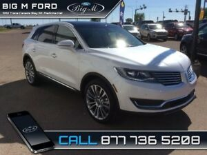 2018 Lincoln MKX Reserve AWD  - Certified - Leather Seats - $387