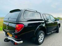 2010 Mitsubishi L200 D/Cab DI-D Warrior II 4WD 176 BHP [Leather+Canopy] PICK UP