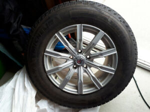 """16"""" Mags with Michelin Winter tire"""
