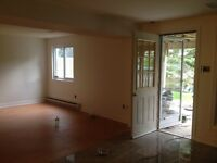 New 1 bedroom walkout apartment for rent!