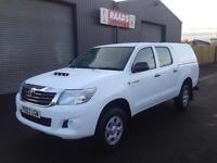 2012 (62) Toyota Hilux 2.5 D4-D HL2 Double Cab 4x4 Diesel Pickup *88k*