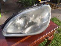 Mercedes s class w220 passenger side headlight