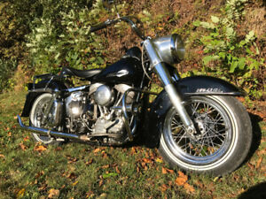 Ex Toronto Police 1963 Harley Panhead fully restored