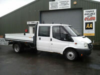 Ford Transit 2.4TDCi Duratorq ( 100PS ) Double cab dropside pickup only61k miles