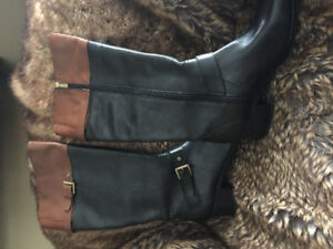 Ladies Leather Fashion Winter Boots