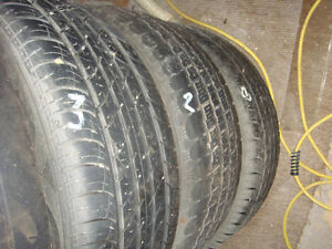 6  - 1995 Volkswagen Golf Steel rims with tires With 1extra tire Strathcona County Edmonton Area image 3