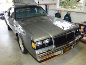 1986 Buick Regal T Type Grand National