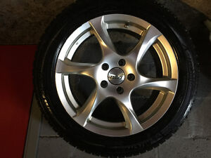 """17"""" alloy wheel rims ( Michelin winter tires included )"""