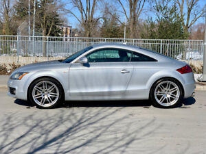 2008 Audi TT 3.2 S Line V6, 6-speed manual; immaculate, 1 owner