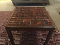Danish tiled coffee table